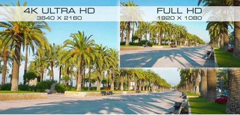 کیفیت تصویر FULL HD