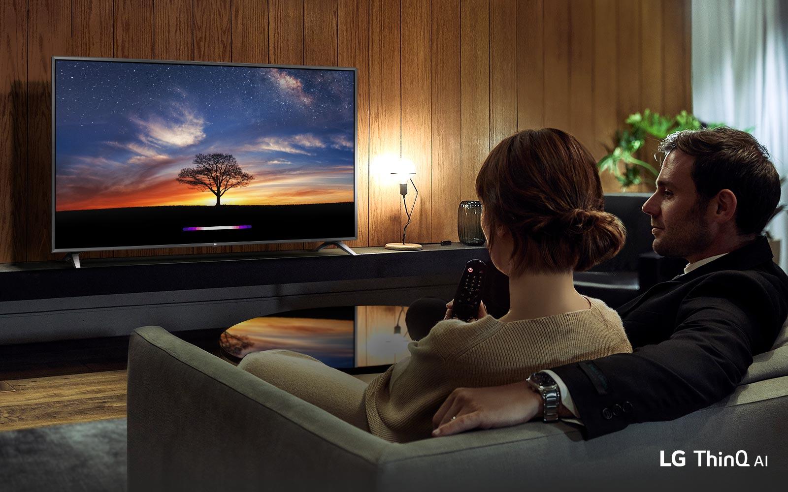 تلویزیون49 اینچ 4k ال جی مدل 49UM7340_ال جی 49 اینچ هوشمند