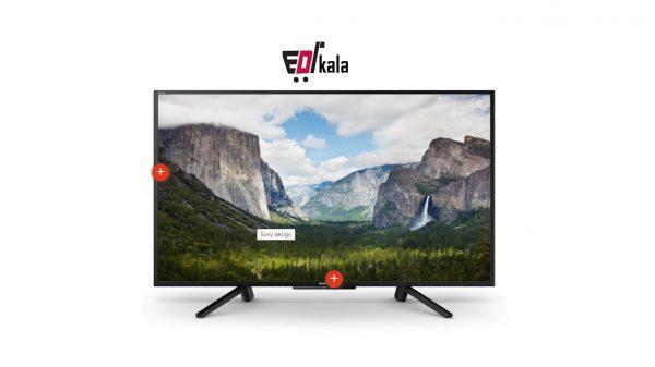 تلویزیون50 اینچ سونی مدل 50W660_تلویزیون هوشمند سونی50 اینچ