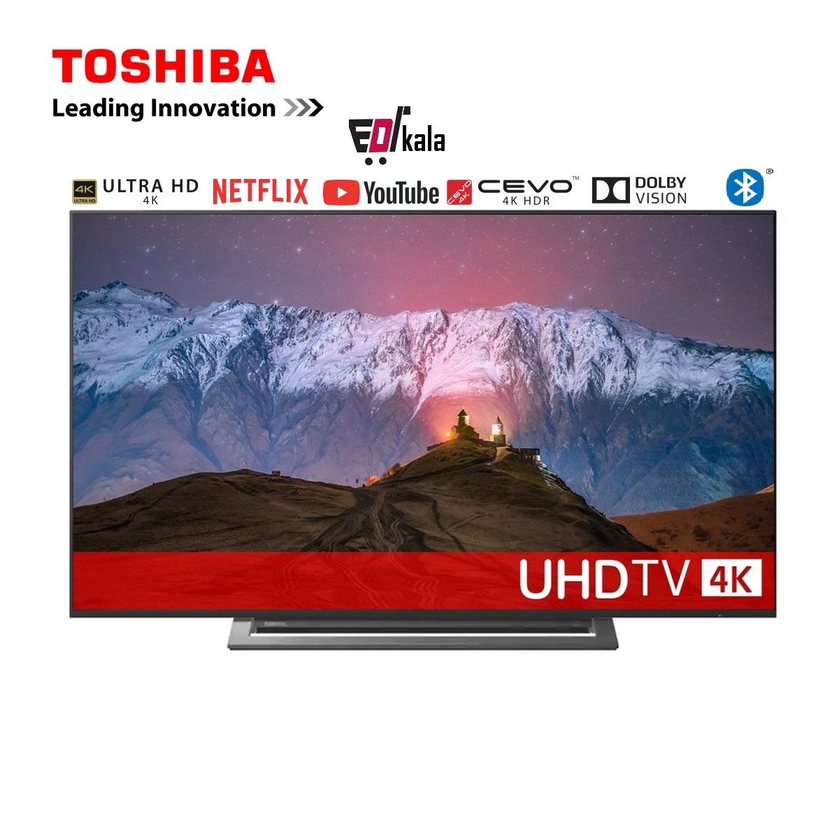 تلویزیون اولترا اچ دی توشیبا 55 اینچ مدل U7950