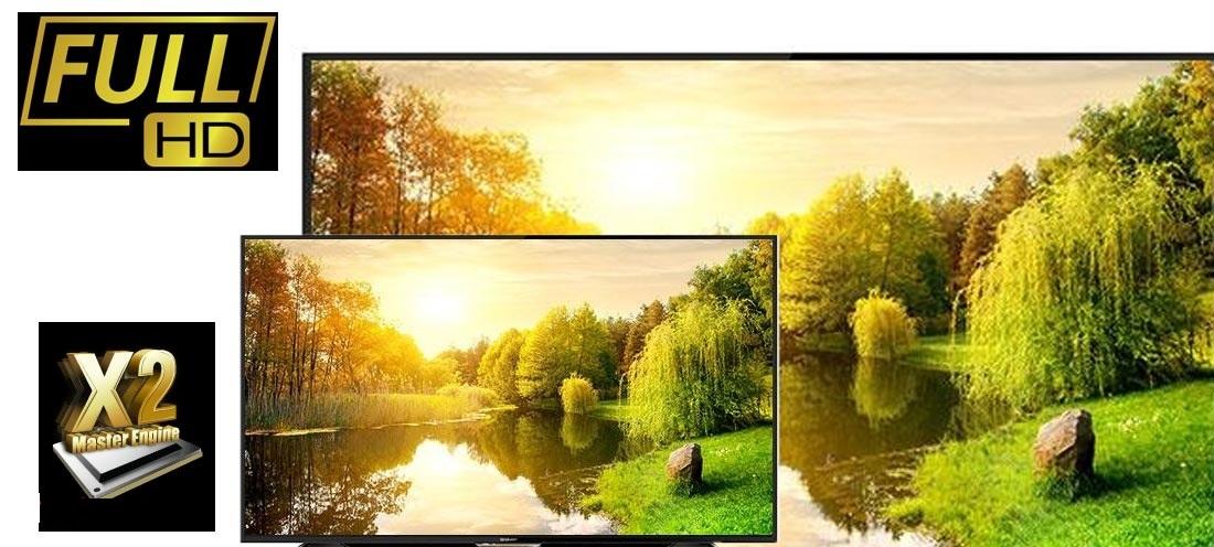 سیستم تصویری تلویزیون شارپ 50 اینچ مدل AE1X