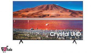 تلویزیون اسمارت UHD 4K سامسونگ 75 اینچ مدل 75tu7100